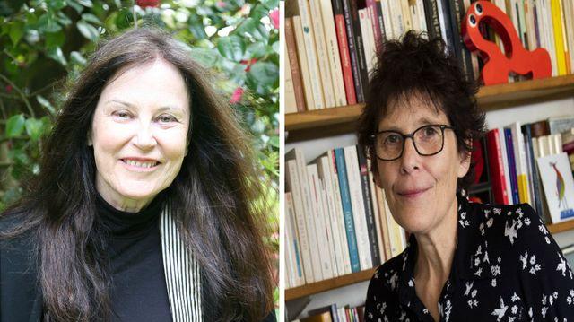 Irène Frain. DR / Anne Magnien © Francesca Mantovani - Editions Gallimard.