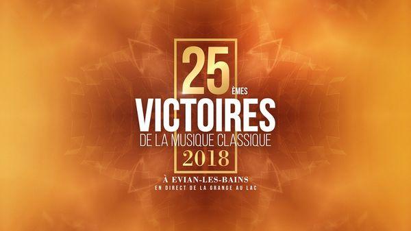 25èmes Victoires Classiques - vendredi 23 février 2018