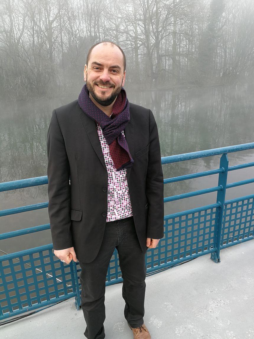 Michel Rouger le directeur général du Muséo Parc Alésia
