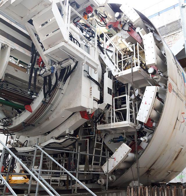 Ce tunnelier chargé de la future ligne 15 percera 12 m par jour