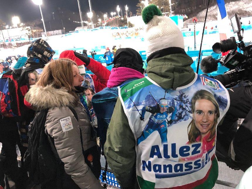 Les parents d'Anaïs Bescond sont venus du Jura pour encourager leur fille à PyeongChang pour cette olympiade 2018 en Corée du Sud