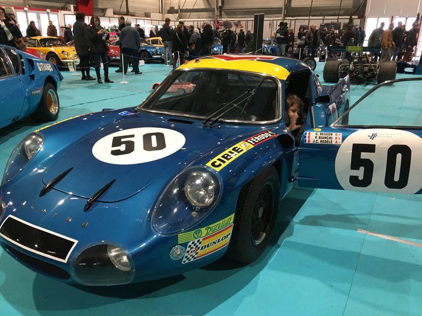 L'A210 qui a marqué l'histoire des 24h du Mans à la fin des années 60.