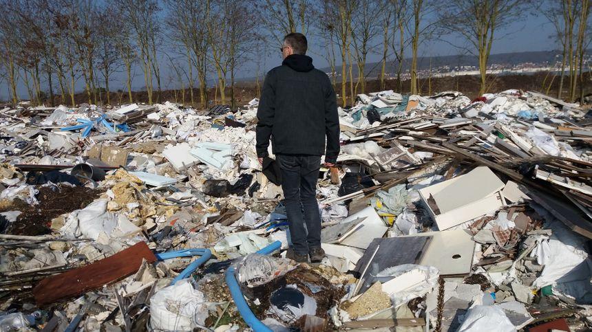 Alban Bernard a lancé une pétition pour alerter les autorités. - Radio France
