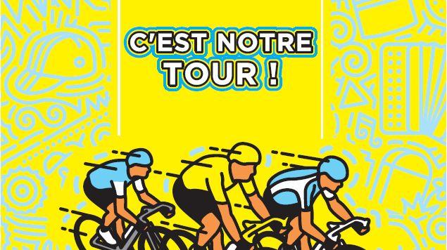 L'affiche des festivités pour l'accueil du Tour de France à Quimper