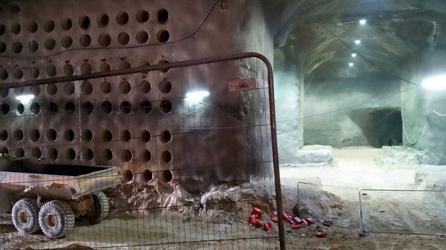 Les allées de ce nouveau cimetière souterrain courent sur 1,5 km