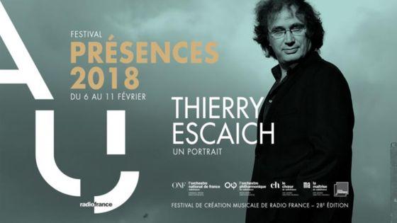Festival Présences 2018 : Thierry Escaich