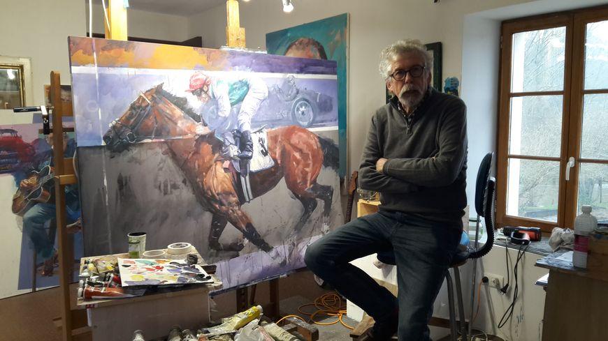 Stanley rose artiste peintre fascin par les voitures - Cote d un artiste peintre ...