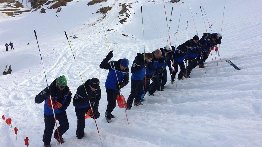 Un exercice avalanche dans les Pyrénées (photo d'illustration)