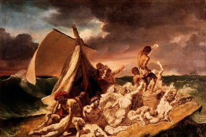 Étude préparatoire au tableau Le Radeau de la Méduse de Géricault (Musée du Louvre)
