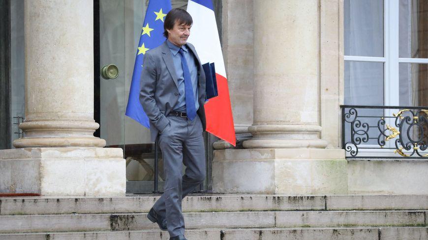 Nicolas Hulot, ministre de la transition écologique et solidaire.