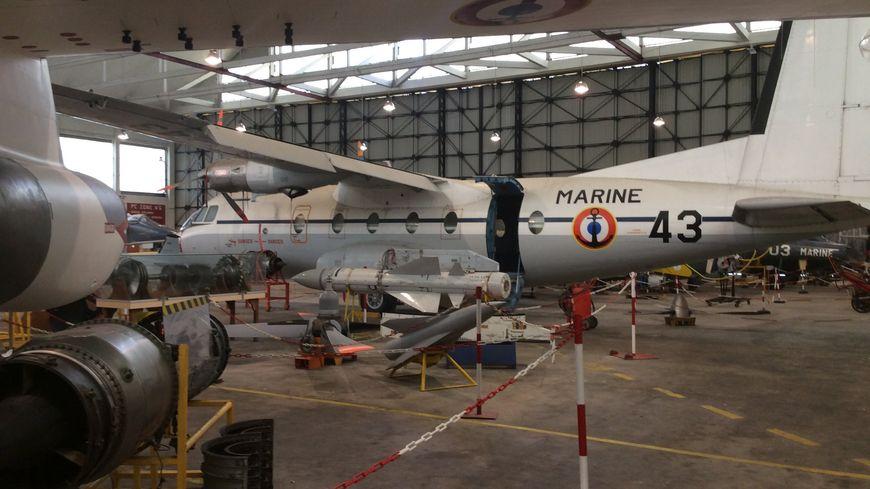 construit en 1929, le hangar Dodin renferme l'éssentiel de la collection du musée de l'aéronautique navale de Rochefort sur mer