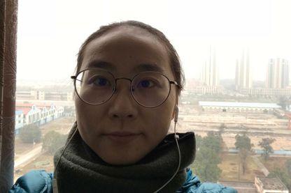 Yang à Chengdu (dans le sud de la Chine) jointe par skype