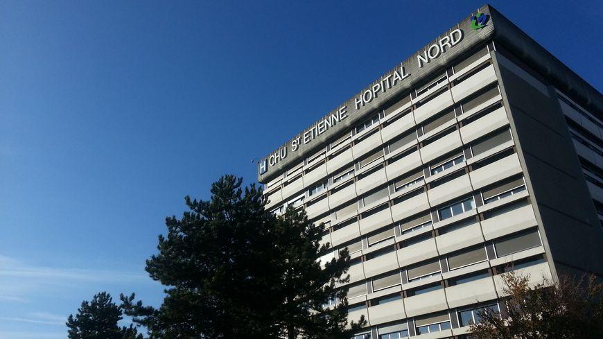 Un des bâtiments du CHU de Saint-Étienne.