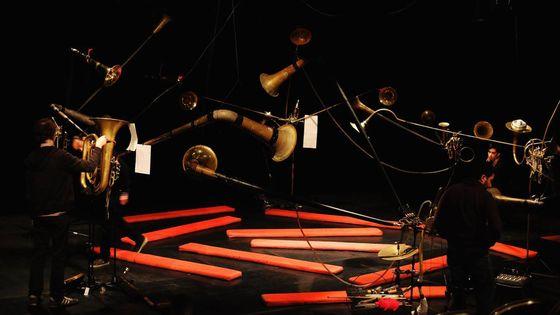 Toccata pour Spat'sonore de Gérard Pesson Octobre 2008
