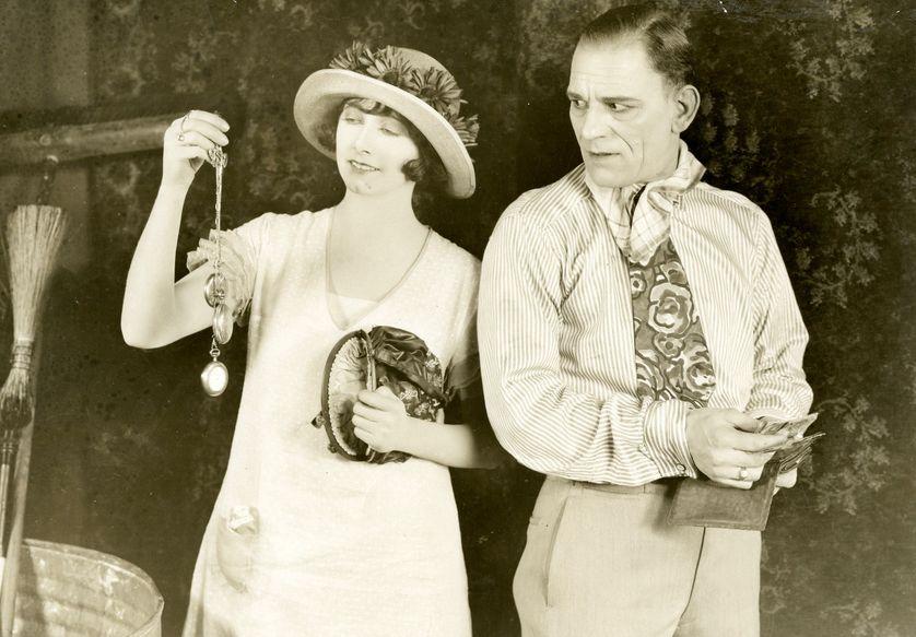 Le club des trois avec Lon Chaney, de Tod Browning, 1925
