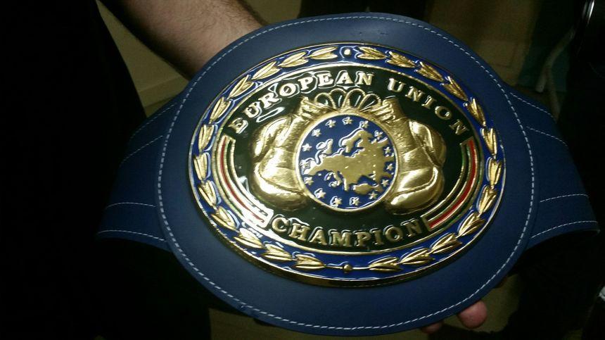 Une nouvelle ceinture Européenne pour Jordy Weiss - Radio France