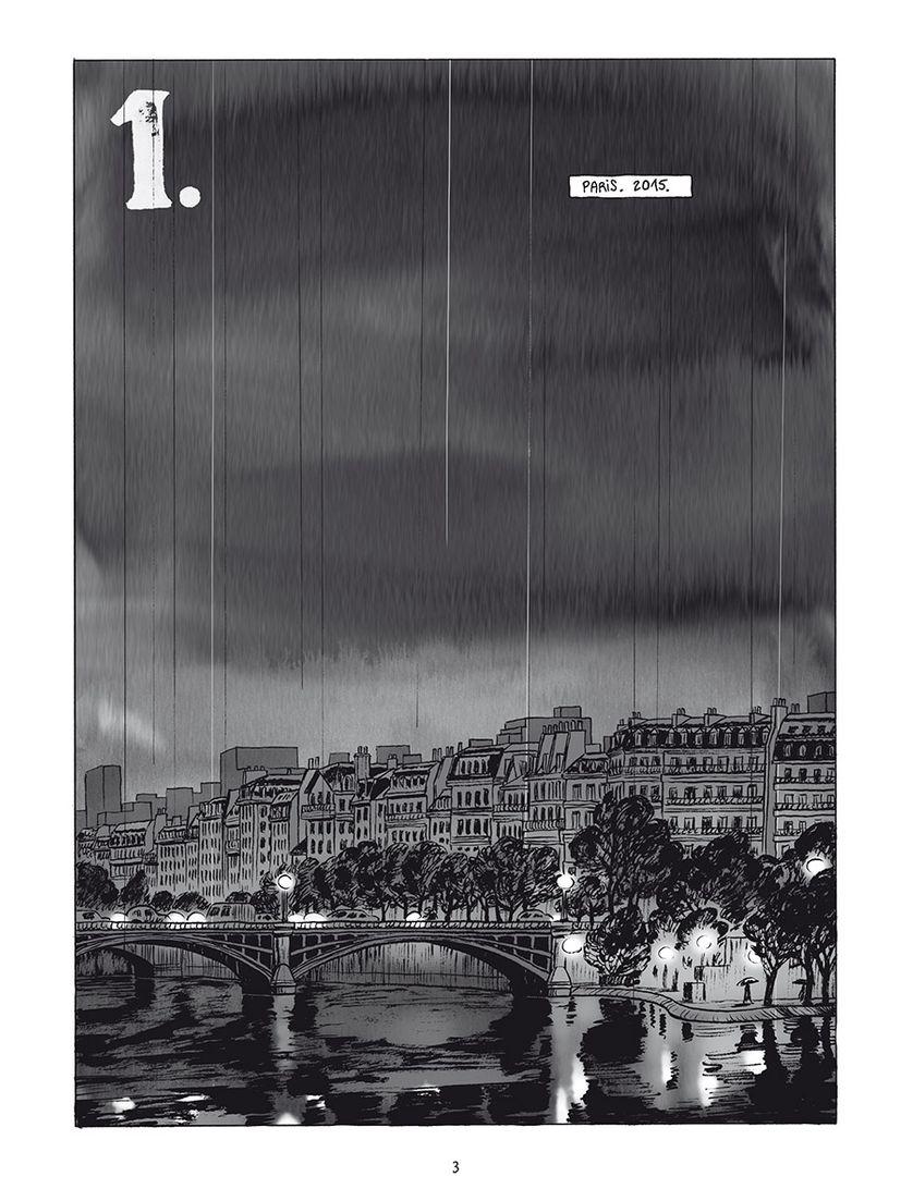"""Planche de """"L'Homme Gribouillé"""" de Serge Lehman et Frederik Peeters"""
