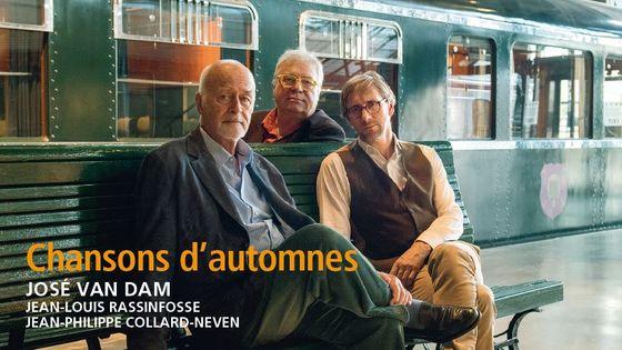 José Van Dam - Chansons d'automnes sorti le 9 février 2018 (Editions Radio France)