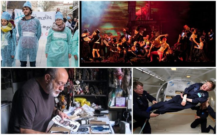 Personnel médical (Lyon) · Benvenuto Cellini · Michel Nedjar et ses poupées · Stephen Hawking