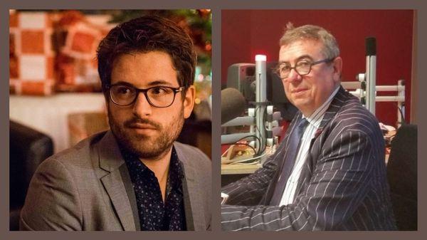 La librairie Mollat à Bordeaux avec son directeur Denis Mollat // L'Opéra National de Bordeaux avec Pierre Dumoussaud