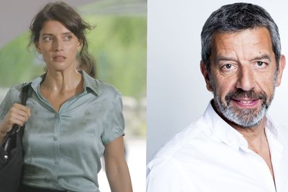 Hélène Seuzaret et Michel Cymes