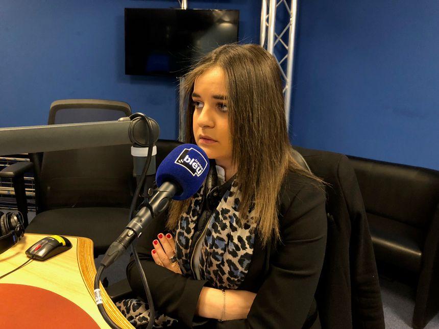 Laura Layani préside l'antenne toulousaine de l'Union des Etudiants Juifs de France.
