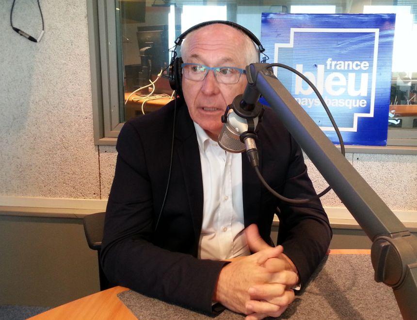 Jean-René Etchegaray, maire de Bayonne et président de la communauté d'agglo Pays Basque