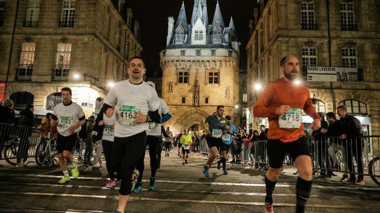 Illustration du marathon de Bordeaux en 2016.