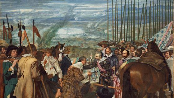 """La reddition de Breda ou """"Les""""lances"""" de Diego Vélasquez (1634-35)"""