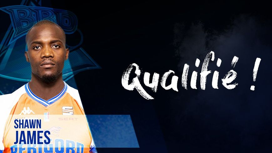 Shawn James rejoint officiellement l'effectif du Boulazac Basket Dordogne