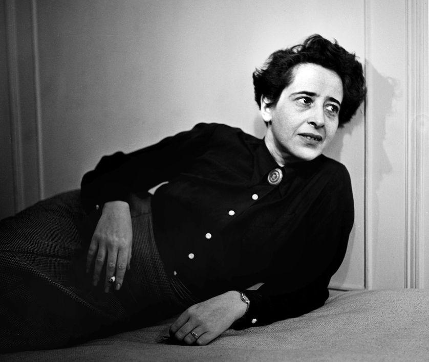 La philosophe Hannah Arendt (ici en 1944) était une amie des parents de Daniel Cohn-Bendit.