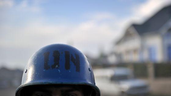 Soldat moderne ... Soldat de l'ONU