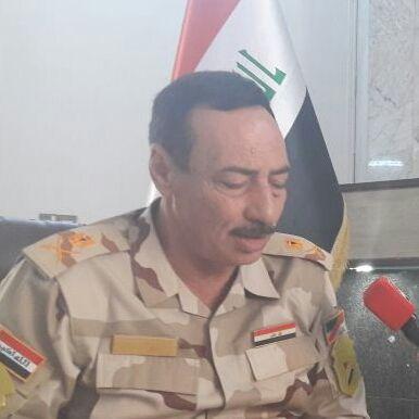 Le général Najim Al Jibouri