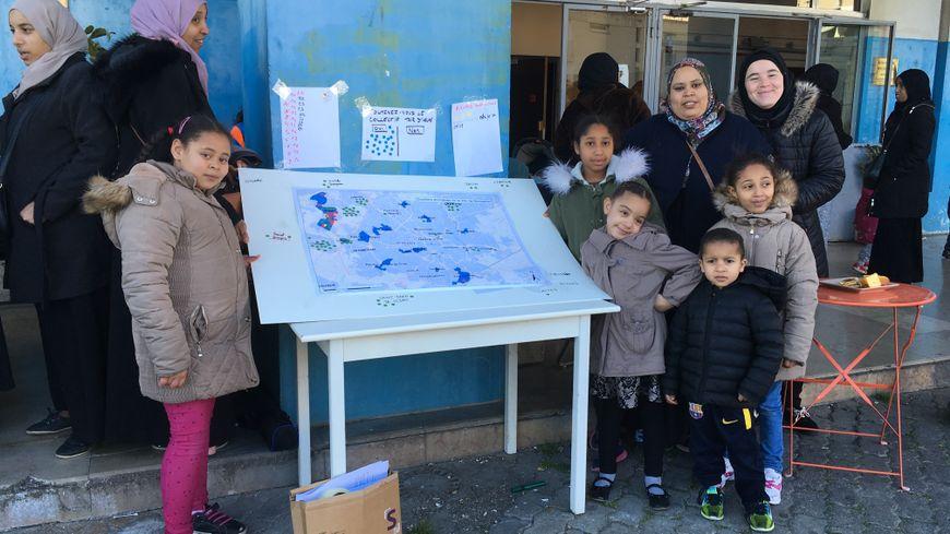 Le collectif des habitants de la Tour d'Assas organisait un goûter pour faire le point sur les propositions de logement