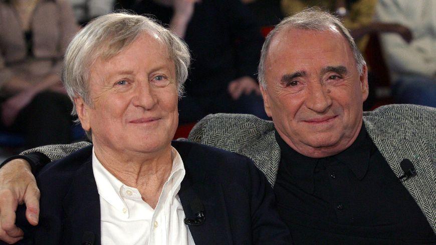 Claude Rich et Claude Brasseur, les deux acteurs principaux du Souper.