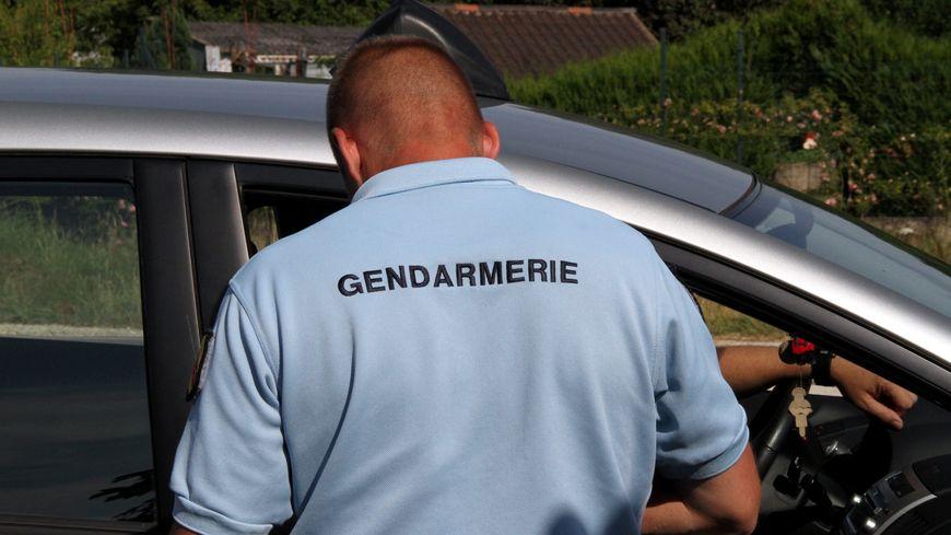 Contrôle de gendarmerie (photo d'illustration)