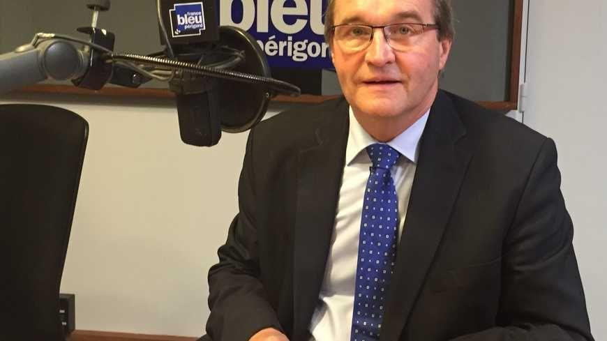 Germinal Peiro, le président du conseil départemental de la Dordogne