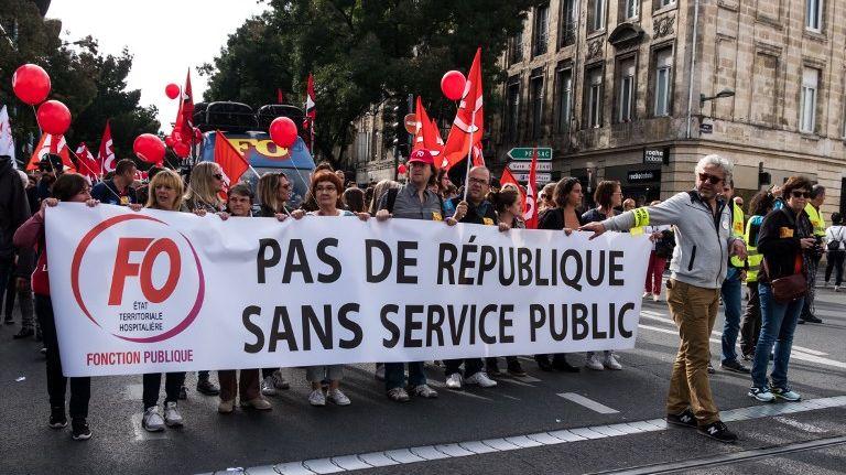 Le départ du cortège est prévu place de la République à Bordeaux, à 14h.