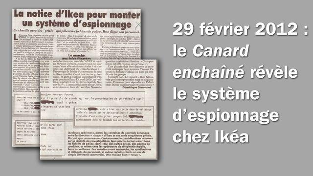 Le Canard enchaîné, édition du 29 février 2012 - montage d'extraits