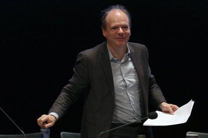 Patrick Boucheron universitaire, écrivain, historien en novembre 2017 au Palais des congrès.
