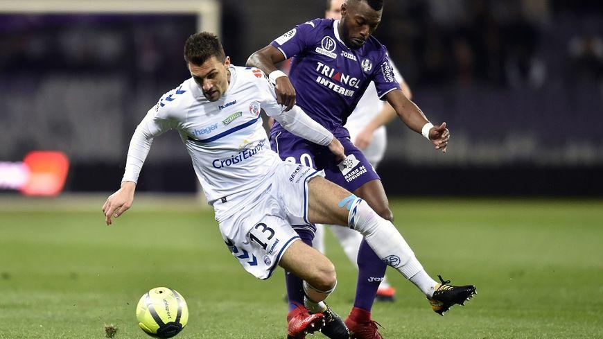 Jérémy Blayac a inscrit le premier but strasbourgeois.