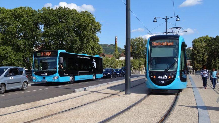 Bus Et Tram à Besançon Du Nouveau En Septembre Sur Le