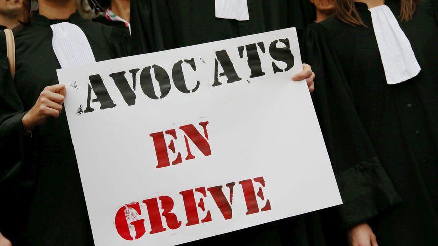 Les avocats protestent contre le projet de loi de programmation de la justice