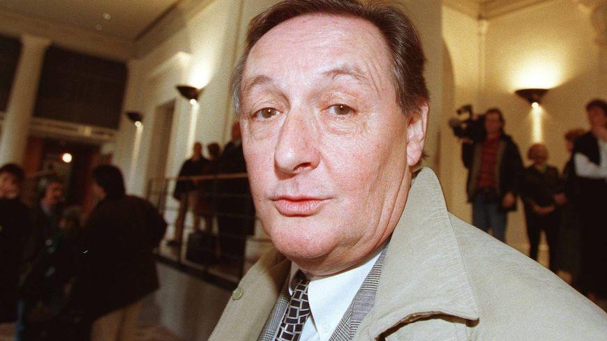 L'ancien député-maire d'Angoulême Jean-Michel Boucheron à la fin des années 90, lors d'un de ses premiers procès.