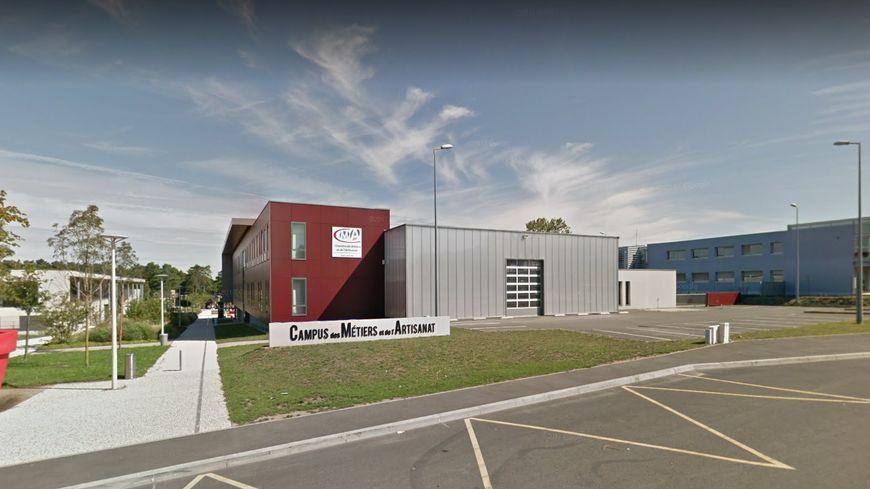 capture google maps campus des mtiers de jou les tours