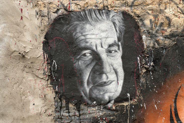 Portrait peint de Jacques Lacan Auteur