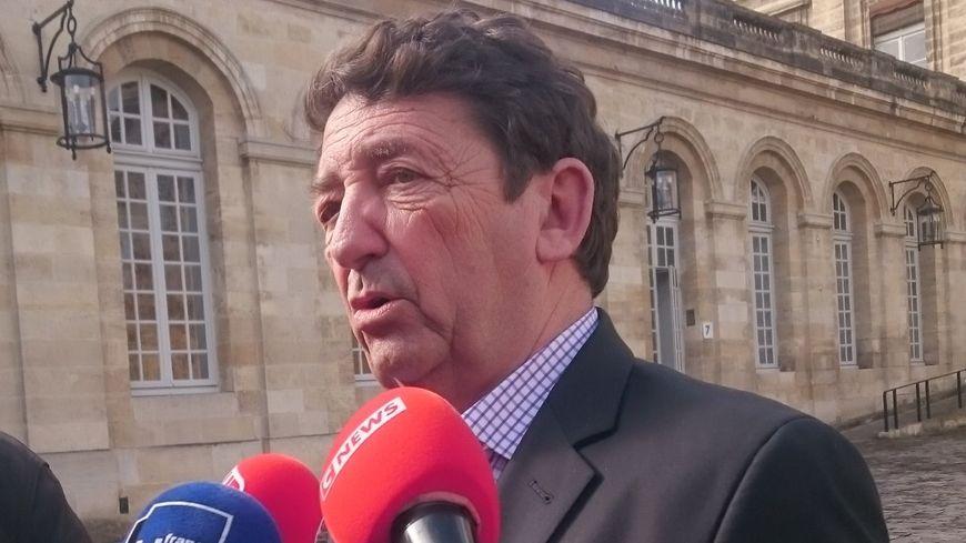 Jean-Louis David, élu en charge de la vie urbaine à Bordeaux.