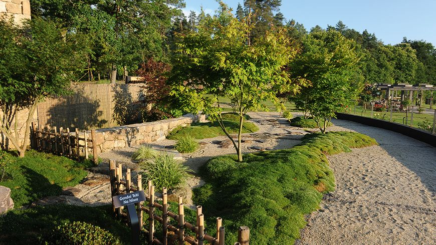 les jardins sothys obtiennent le label jardin remarquable auriac en corr ze. Black Bedroom Furniture Sets. Home Design Ideas