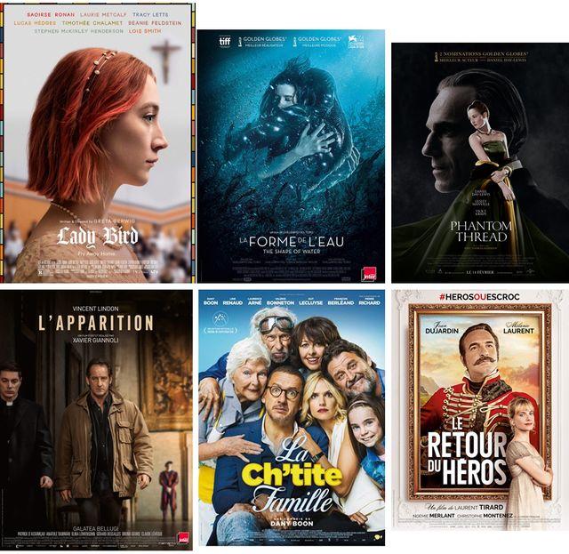 Affiches de films évoqués dans Le Masque et la Plume du 5 mars 2018