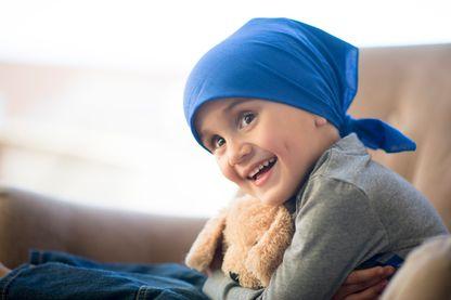 Petit garçon en chimiothérapie
